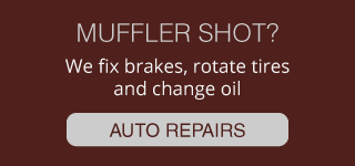 MUFFLER SHOT? | WE FIX BRAKES, ROTATE TIRES AND CHANGE OIL | AUTO REPAIRS